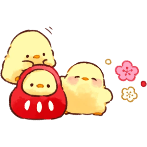 soft and cute chick 07 - Sticker 2