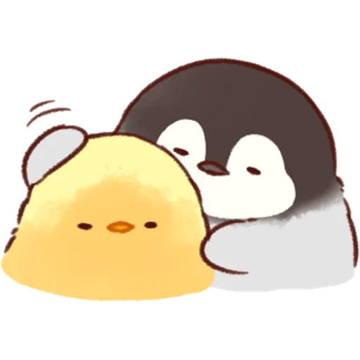 soft and cute chick 07 - Sticker 21