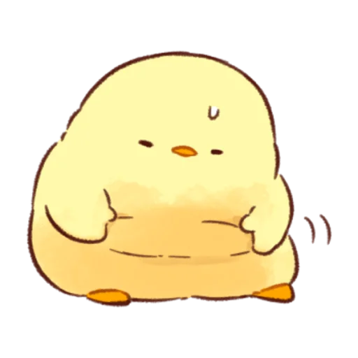 soft and cute chick 07 - Sticker 20