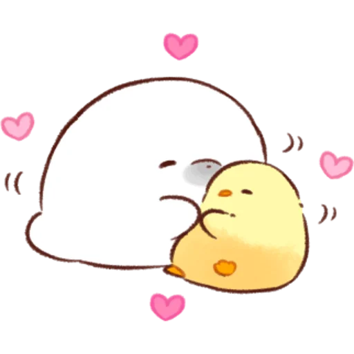 soft and cute chick 07 - Sticker 16