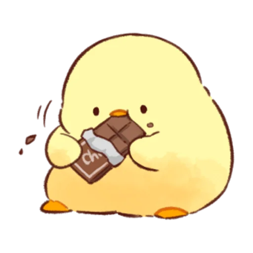 soft and cute chick 07 - Sticker 19