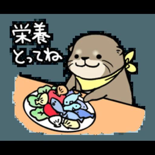 Otter's otter vs virus - Sticker 9