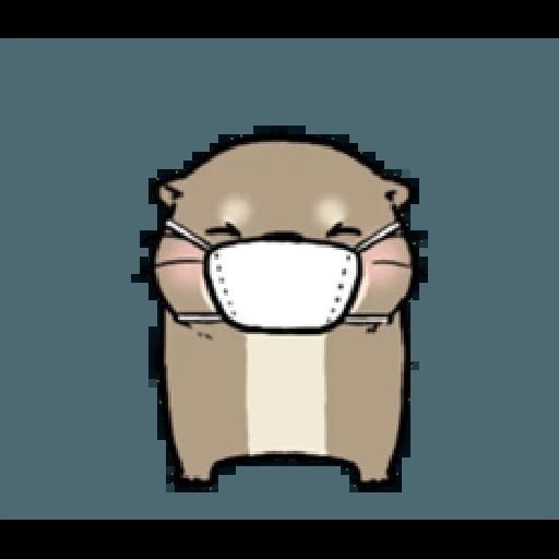 Otter's otter vs virus - Sticker 12