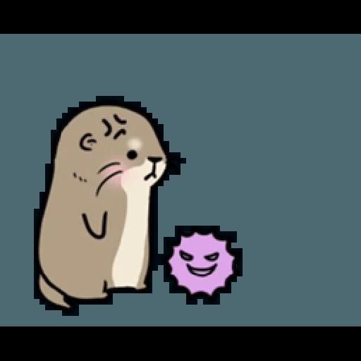 Otter's otter vs virus - Sticker 2