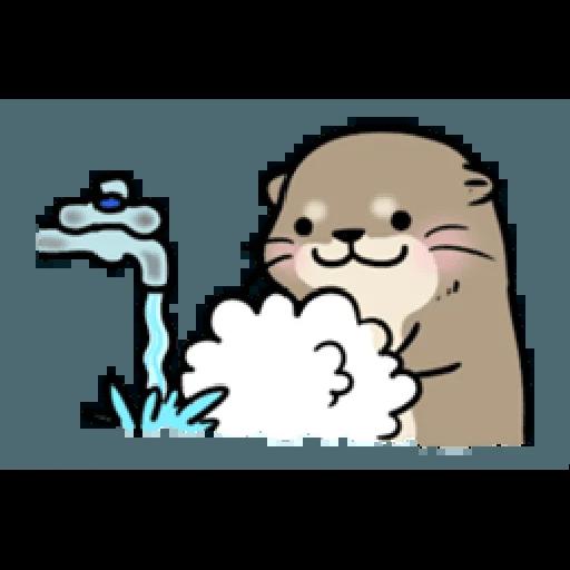 Otter's otter vs virus - Sticker 5