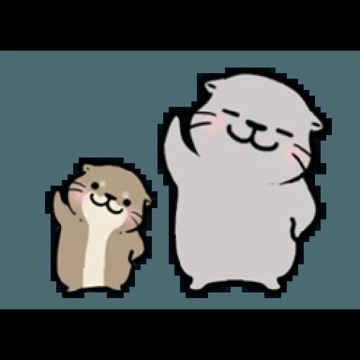 Otter's otter vs virus - Sticker 19