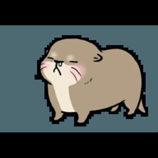 Otter's otter vs virus - Sticker 20