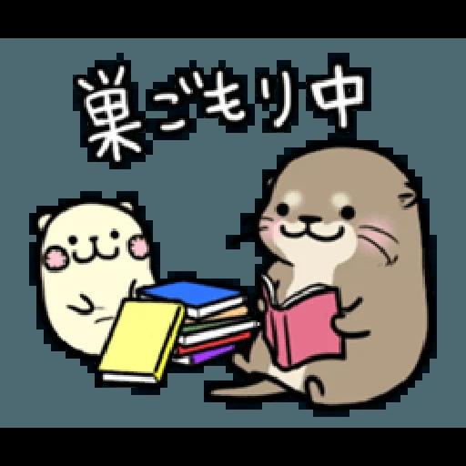 Otter's otter vs virus - Sticker 4