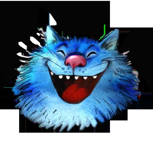 Blue cat - Sticker 3