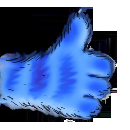 Blue cat - Sticker 10