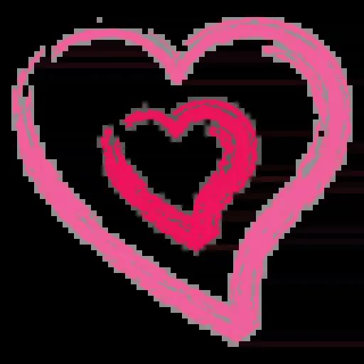 Hearts - Sticker 6