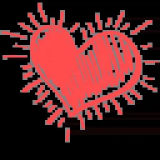 Hearts - Sticker 17