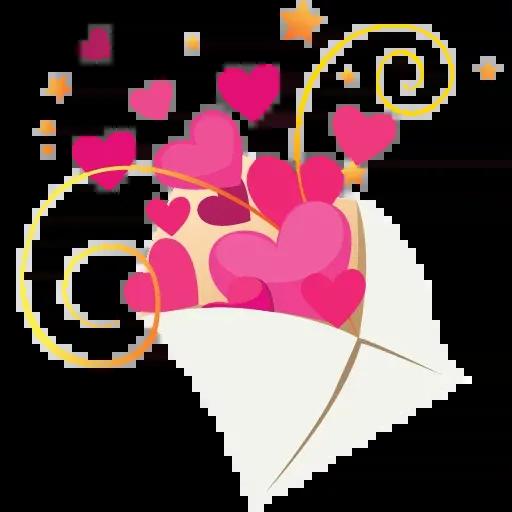 Hearts - Sticker 20