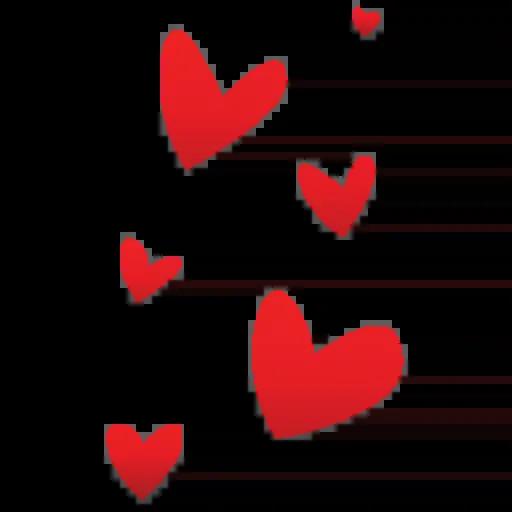 Hearts - Sticker 16