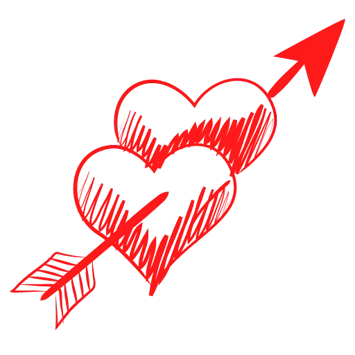 Hearts - Sticker 25
