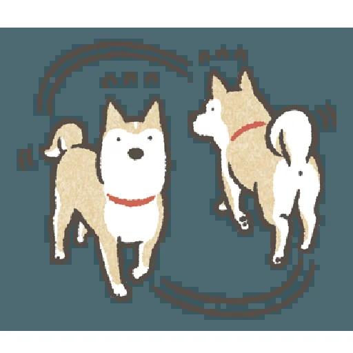 Shiba4 - Sticker 3