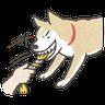 Shiba4 - Tray Sticker