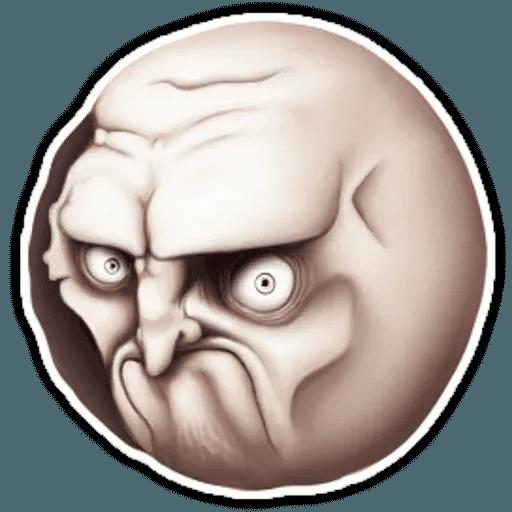 Rage Faces - Sticker 5
