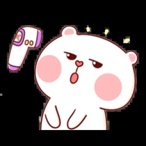 bear w mask - Sticker 9