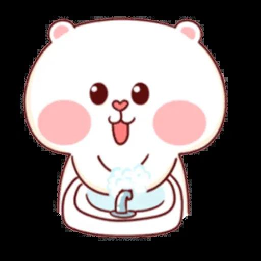 bear w mask - Sticker 23