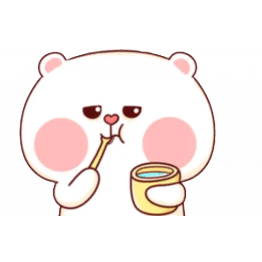 bear w mask - Sticker 14