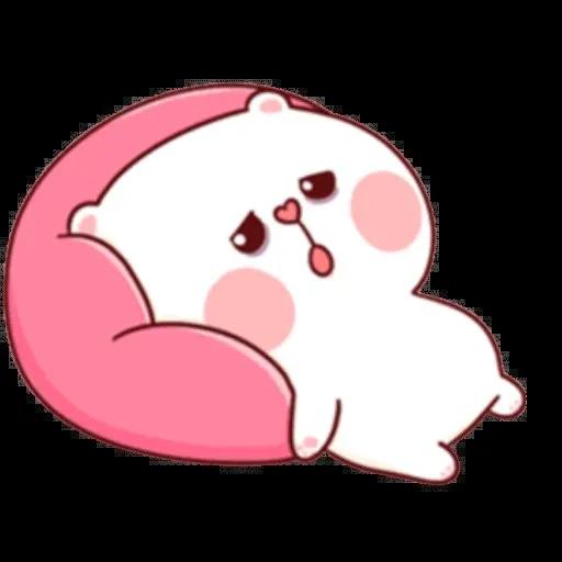 bear w mask - Sticker 10