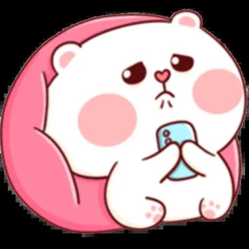 bear w mask - Sticker 24