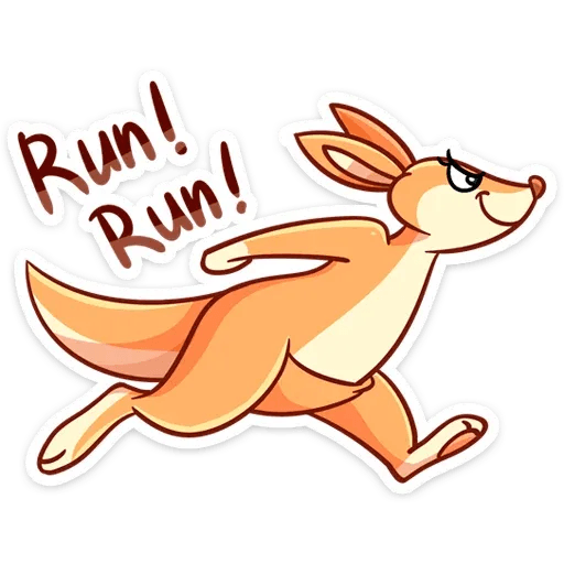 Kangaroo - Sticker 14
