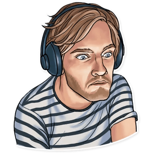 PewDiePie - Sticker 25