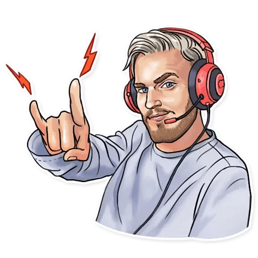 PewDiePie - Sticker 22