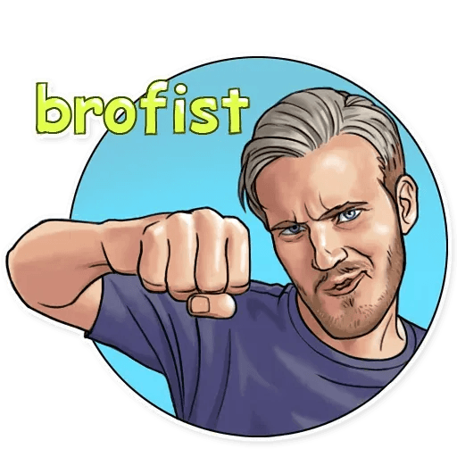 PewDiePie - Sticker 14