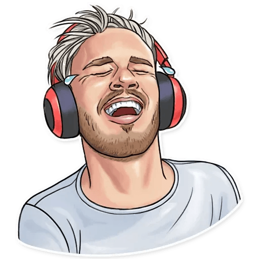 PewDiePie - Tray Sticker