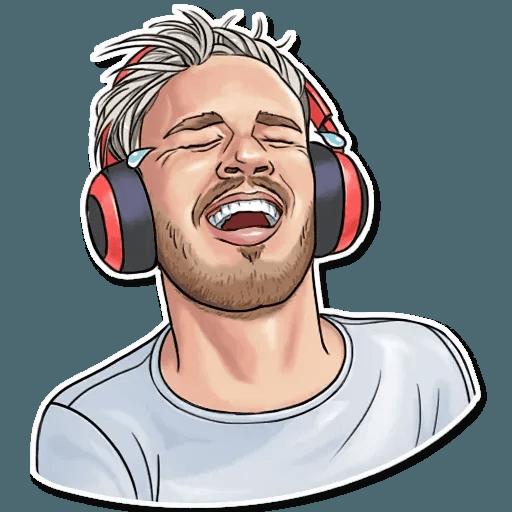 PewDiePie - Sticker 1