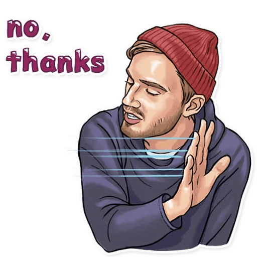 PewDiePie - Sticker 21