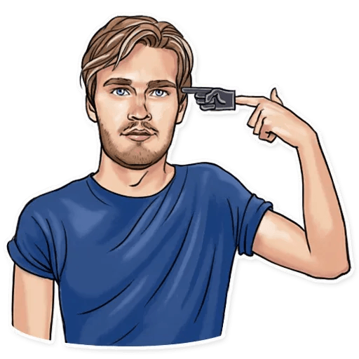 PewDiePie - Sticker 18