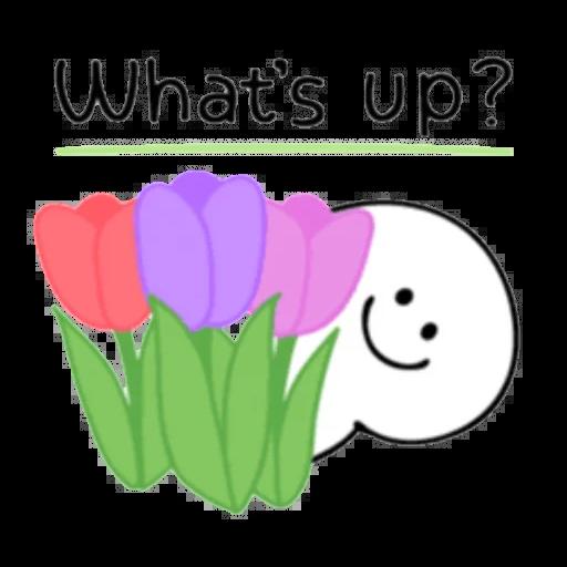 Smile person kind word - Sticker 11