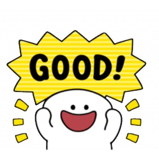 Smile person kind word - Sticker 12