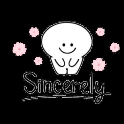 Smile person kind word - Sticker 13