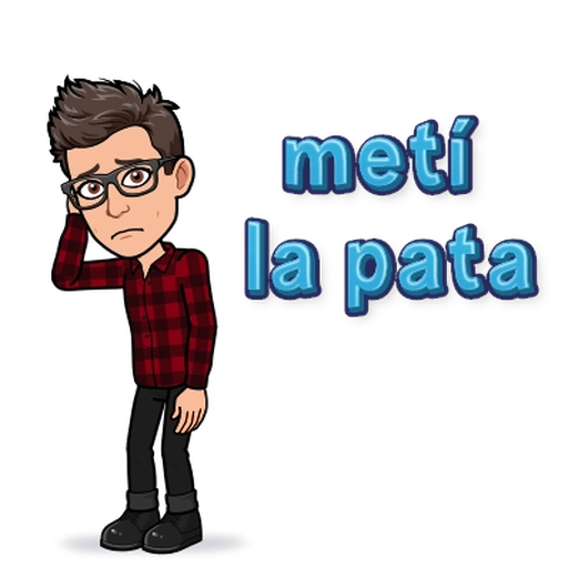 BitMoji 6 - Sticker 4