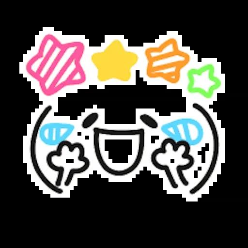 Kawaii Emoji - Sticker 7