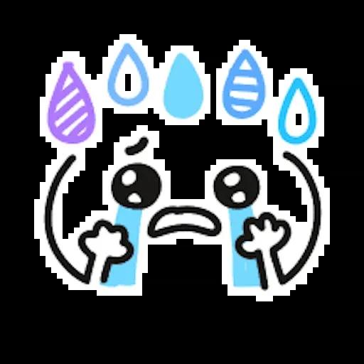 Kawaii Emoji - Sticker 12