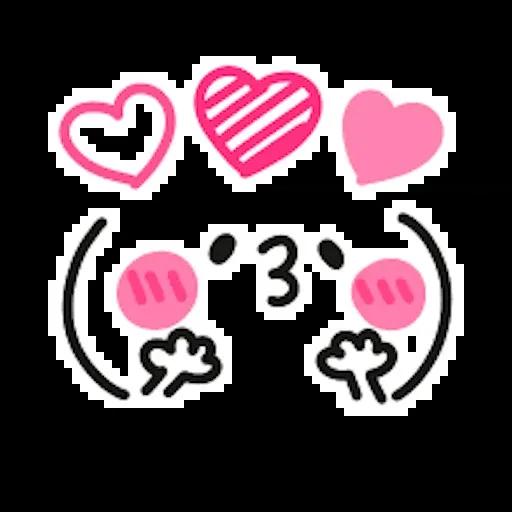 Kawaii Emoji - Sticker 24