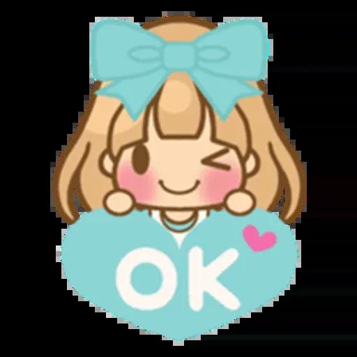 Twin Blonde - Sticker 27