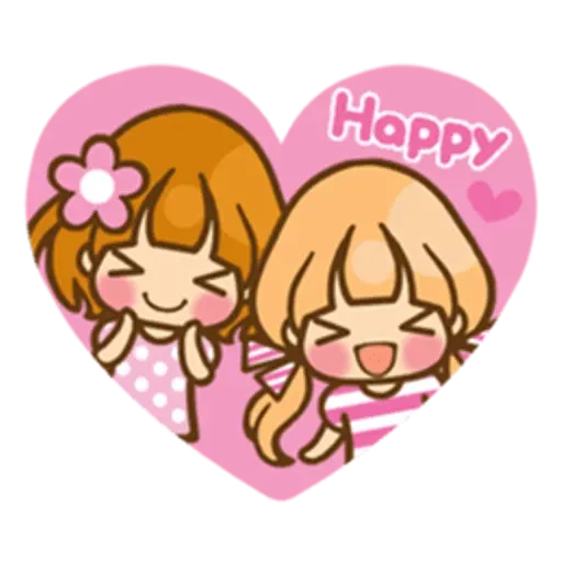 Twin Blonde - Sticker 3