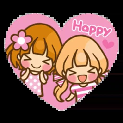 Twin Blonde - Sticker 3