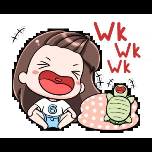 Cute girls - Sticker 13