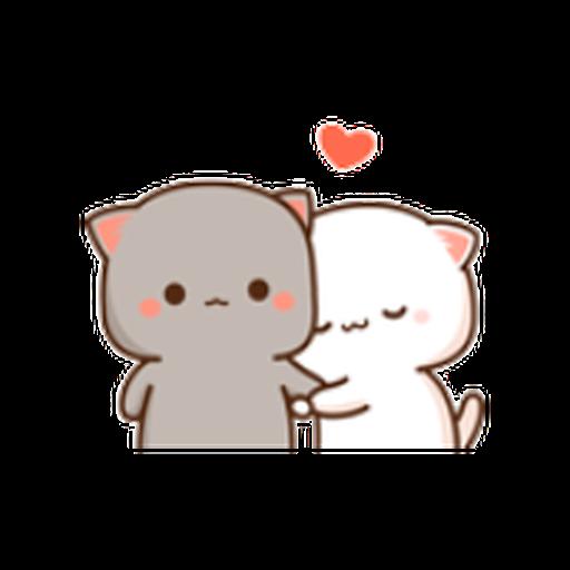 蜜桃猫11 - Sticker 22