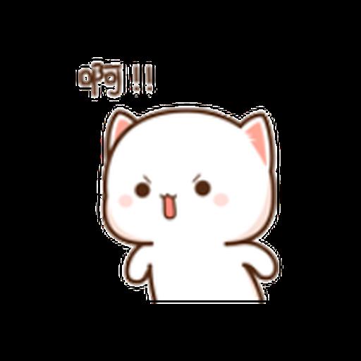 蜜桃猫11 - Sticker 19