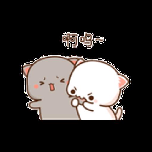 蜜桃猫11 - Sticker 9
