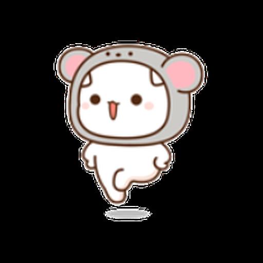 蜜桃猫11 - Sticker 3